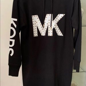 Michael Kors Sweatshirt Dress with MK logo